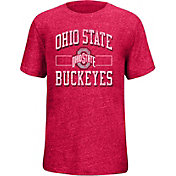 Scarlet & Gray Youth Ohio State Buckeyes Scarlet Staple T-Shirt