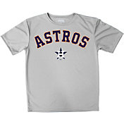Stitches Youth Houston Astros Grey T-Shirt