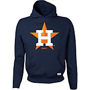 Stitches Youth Houston Astros Navy Pullover Hoodie