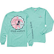 Simply Southern Women's Turtle Long Sleeve T-Shirt