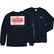 Simply Southern Women's Patchwork Long Sleeve T-Shirt