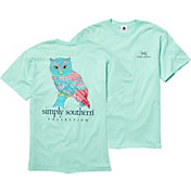 Simply Southern Women's Owl T-Shirt