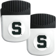 Michigan State Spartans Chip Clip Magnet and Bottle Opener 2 Pack