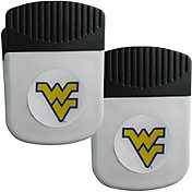 West Virginia Mountaineers Chip Clip Magnet and Bottle Opener 2 Pack