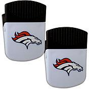 Denver Broncos Chip Clip Magnet and Bottle Opener 2 Pack