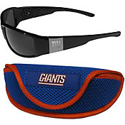 New York Giants Wrap Sunglasses and Sport Case