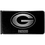 Green Bay Packers Black and Steel Money Clip