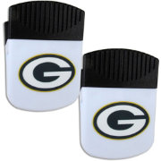 Green Bay Packers Chip Clip Magnet and Bottle Opener 2 Pack