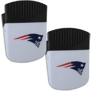 New England Patriots Chip Clip Magnet and Bottle Opener 2 Pack