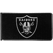 Oakland Raiders Black and Steel Money Clip