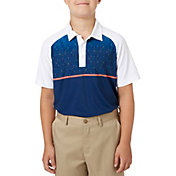 Slazenger Boys' Constellation Block Printed Golf Polo