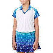 Slazenger Girls' Printed Golf Polo