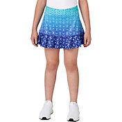 Slazenger Girls' Ombre Printed Flounce Golf Skort