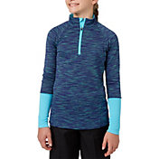 Slazenger Girls' Ombre Textured Golf 1/4-Zip