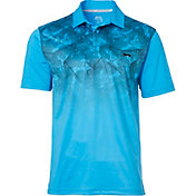 Slazenger Men's Contender Concrete Ombre Golf Polo