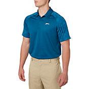 Slazenger Men's Mineral Jacquard Sleeve Golf Polo