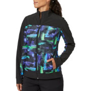 Slazenger Women's City Lights Collection Printed Mesh Jacket