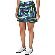 Slazenger Women's City Lights Collection Printed Woven Golf Skort
