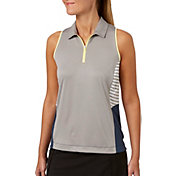 Slazenger Women's Grey Matter Collection Racerback Golf Polo