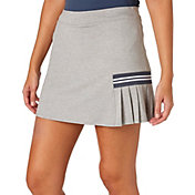 Slazenger Women's Grey Matter Collection Pleated Knit Golf Skort