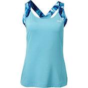 Slazenger Women's Printed Strap Tennis Tank Top