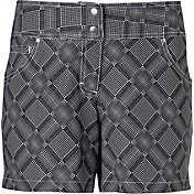 Slazenger Women's Structure Collection Printed Golf Shorts