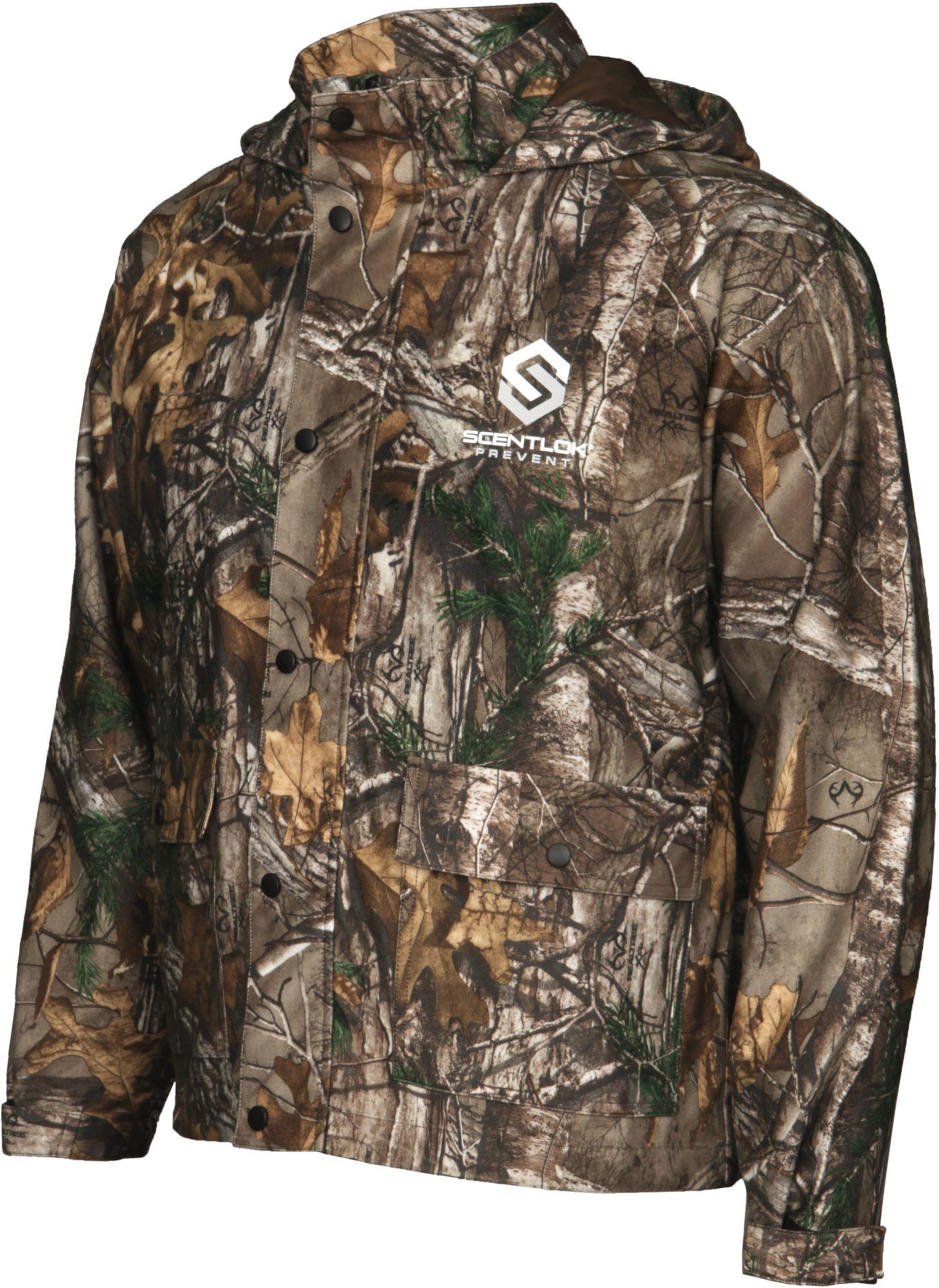 ScentLok Men's Prevent Waterproof Hunting Jacket, Size: Medium, Brown thumbnail
