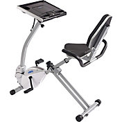 Stamina 2-in-1 Recumbent Exercise Bike and Workstation