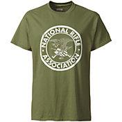 NRA Men's Distressed Circle Logo T-Shirt