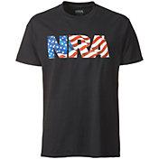 NRA Men's Flag-Filled Logo T-Shirt