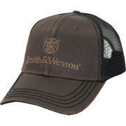 Smith & Wesson Men's Oil Cloth Trucker Hat