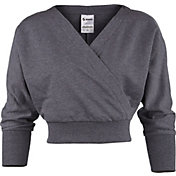 Soffe Women's Gym Wrap Long Sleeve Shirt