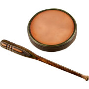 Triple Toe Calls Copper Flopper Double-Sided Friction Turkey Call
