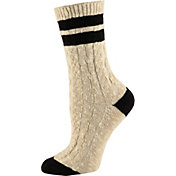 SOREL Women's Varsity Stripe Cotton Crew Socks