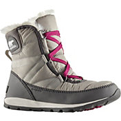 SOREL Women's Whitney Short Lace 200g Waterproof Winter Boots