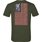 Browning Men's Buckmark Flag T-Shirt
