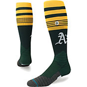 Stance Oakland Athletics Diamond Pro Green Socks