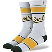 Stance Oakland Athletics Team White Socks