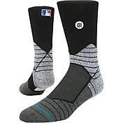 Stance MLB Diamond Pro On-Field Black Sock