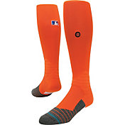 Stance MLB Diamond Pro On-Field Orange Tube Sock