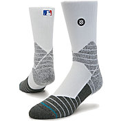 Stance MLB Diamond Pro On-Field White Sock