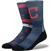 Stance Cleveland Indians Splatter Mix Socks