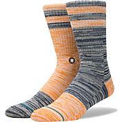 Stance Houston Astros Greystone Socks