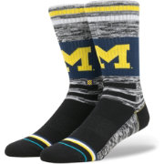 Stance Michigan Wolverines Heather Varsity Socks