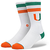 Stance Miami Hurricanes Crew Socks