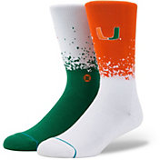 Stance Miami Hurricanes Dip-Dye Socks