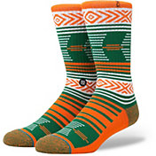 Stance Miami Hurricanes Mazed Socks