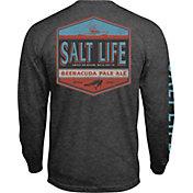 Salt Life Men's Beeracuda Long Sleeve Shirt