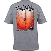 Salt Life Men's Hook Line and Sinker Fade T-Shirt