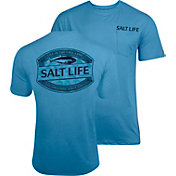 Salt Life Men's Life in the Cast Lane SLX UVapor Performance T-Shirt
